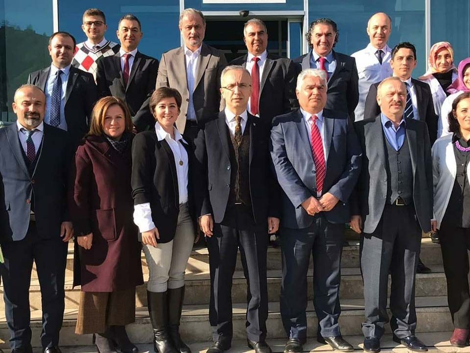 Türk Çayder ve RTE Üniversitesinden Değerli Katılımcılar ile Tesis Gezisi ve Bilgilendirme.